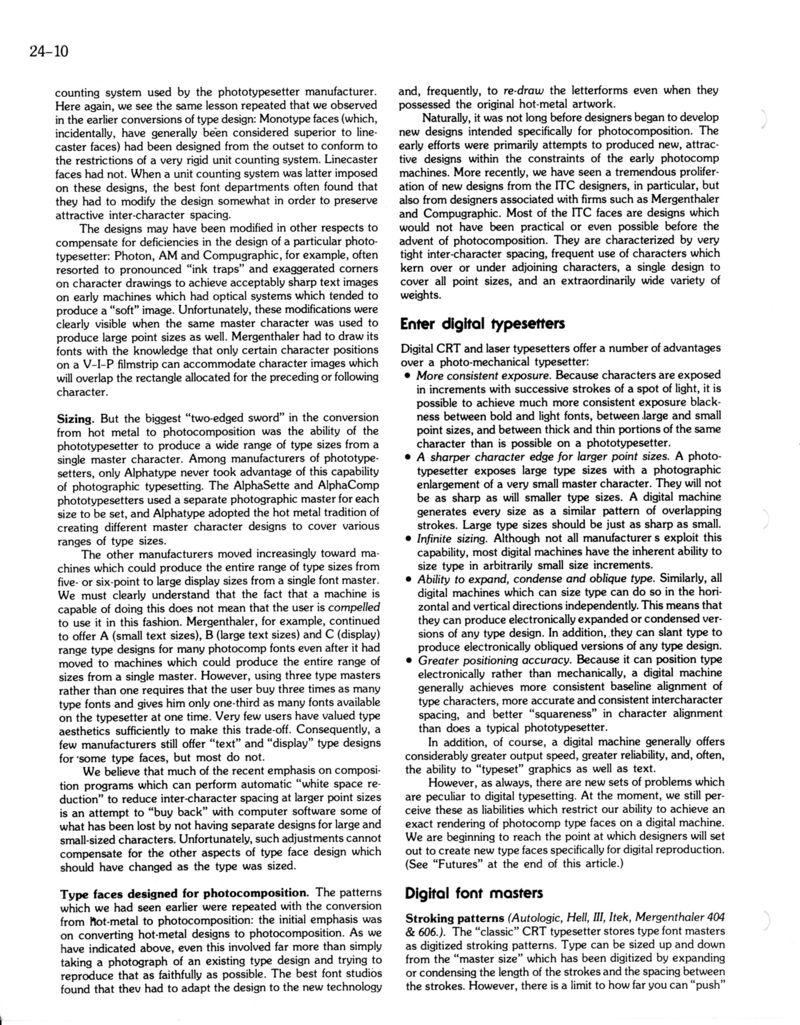 Bigelow & Holmes: Articles