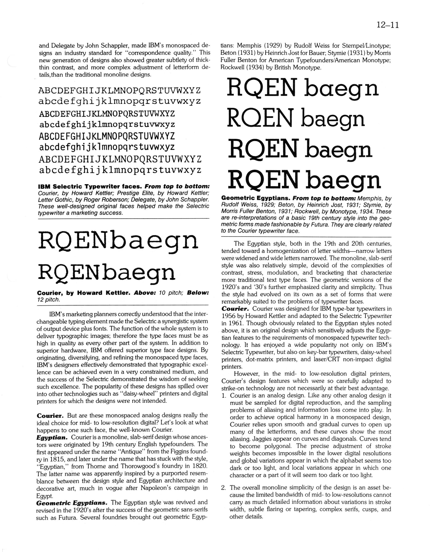 Bigelow & Holmes: Digital Type Archaeology